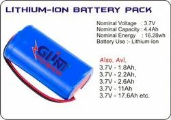 Glint Lithium-Ion Battery3.7V Pack, Battery Capacity: 1.8 Ah
