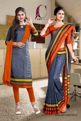 Uniform Saree Salwar Kameez Combo