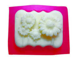 80gms - Floral 1 - Silicone Soap Mold