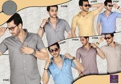 Half Sleeves Men Shirt