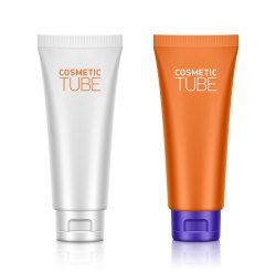 Plastic Cosmetic Tube