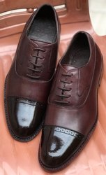 Male Formal Leather Shoes, Packaging Type: Box
