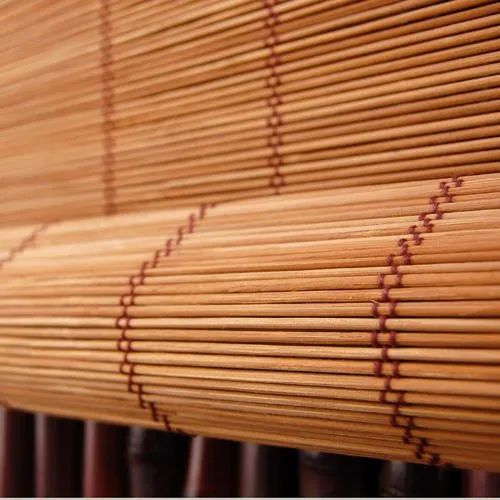 Brown Window Bamboo Roll Up Blind, for Home