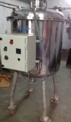 200 Liters Sanitizer Manufacturing Stainless Steel Vessel SS 304