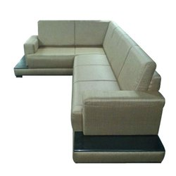 Wooden L Shape Modular Sofa Set, Back Style: Tight Back