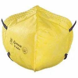 yellow Non-Woven Pollution Mask, Dhul Rakshak