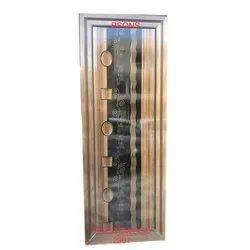 Polished Rectangular Decorative PVC Waterproof Door