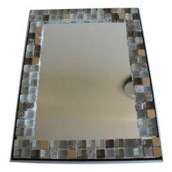 Decorative Mirror Glass, Shape: Rectangle