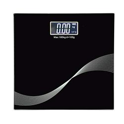 Electronic LCD Bathroom Body Weight Weighing Scale with Advance Step on Technology - Bathroom scale
