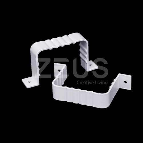 ZEUS Downspout PVC Square Pipe Cl& : square pipe clamp - www.happyfamilyinstitute.com