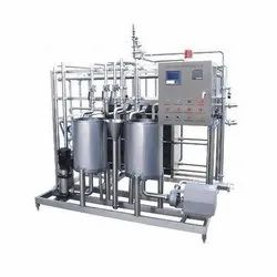 Semi-Automatic Milk Processing Machinery, Capacity: 500 litres/hr