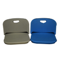 Blue And Grey Plastic Seat Shells