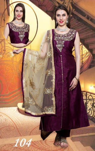 b9d9796a765 Heavy Designer Dupatta With Silk Party Suits