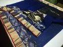 Chanderi Silk Handwoven Designer Kinaar Border Saree By Motamal Handlooms