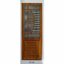 PVC Glass Digital Door
