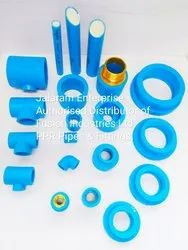 PPR Blue Pipe and Fittings