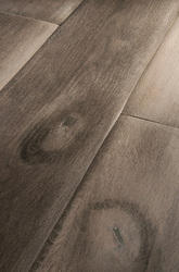 1800 Mm Rectangular Antique Grey Oak Planks, Thickness: 15 Mm, Rustic
