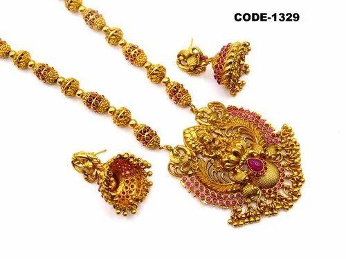 Antique Designer Kundan Earring