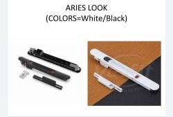 Sliding Window Stainless Steel Aries Domal Lock, Size: Regular Size