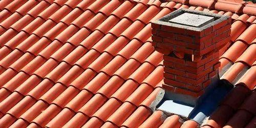 Natural Red natural mitti Clay Roofing Tiles, Shubhlaxmi Ceramics | ID:  20846200388