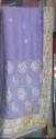 Designer Light Purple Saree