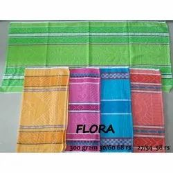 Flora Cotton Bath Towel