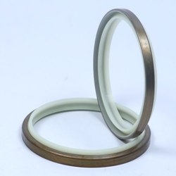 Rubber Brown and White Wiper Seals, For Industrial, Size: Upto 500 m OD