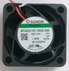 Black 40mm 12V Fan, Model Name/Number: MF40201VX-10000-A99