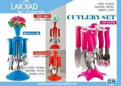 Plastic Royal Cutlery Set