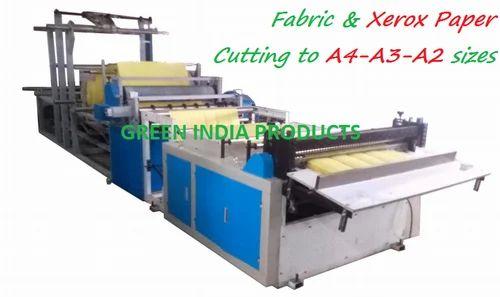 Automatic A4 Size Sheet Making Machine - Green India