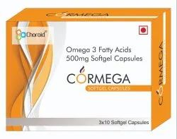 Omega 3 Fatty Acids Softgel Capsules (Cormega)