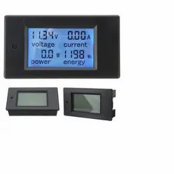 Dc 6.5-100v 0-20a 4 In 1 Digital Voltage Current Power Energy Meter Large Lcd Screen Dc Voltmeter Am