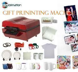 3D Sublimation Vaccum Heat Press Machine For Mugs & Phone