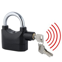 Anti Theft Burglar Pad Alarm Lock with Motion Sensor Security For Home/Office and Bike/Bicycle/Shop