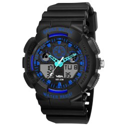 Round sports Watches Mens Water Resistant Sports Watch