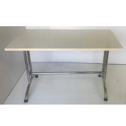 Wooden Canteen Rectangle Table