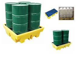 Spill Pallet for 4 x 205ltr Drums - (BP4)