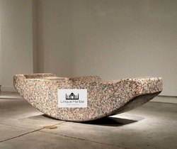 Premium Four Seater Granite Bench