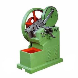 Semi-Automatic Cold Thread Rolling Machine