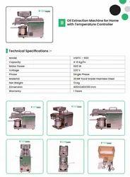Oil Extraction Machine-600W