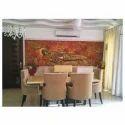 Golden Sleeping Buddha Wall Mural
