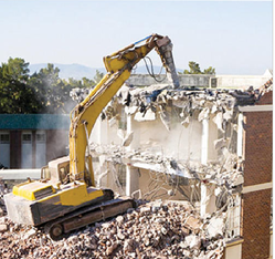 Demolition and Dismantling of Factory and Residential Tower Service