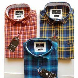 Cotton Checks Men's Fashion Shirt