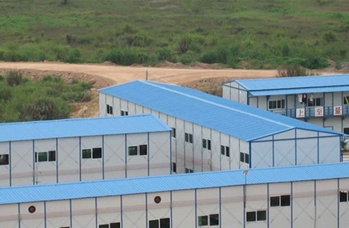 Prefabricated Labour Shed