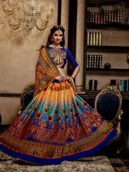Designer Printed Lahenga Choli