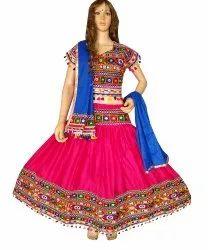 Pink Navratri Special ghagra choli