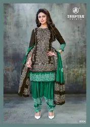 Deeptex Prints Batik Plus Vol 8 Unstitched Cotton Ladies Suits