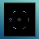 Light Dimmer IR Modular Touch Switch