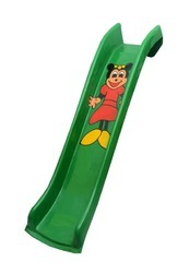 FRP Playground Slide -green Colour