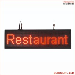 Scrolling LED Display